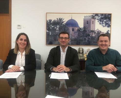 IDIPRO con AEBA y la Diputación de Alicante